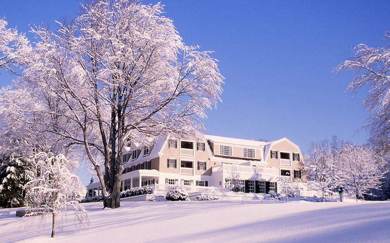 Mayflower Inn Winter