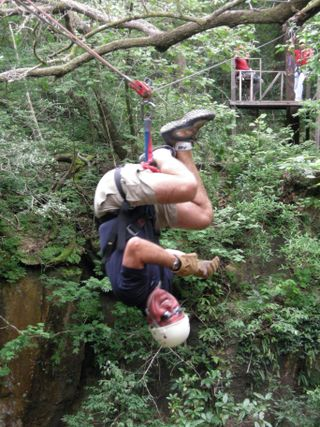 Steve zip upside down three