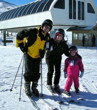 Ski Pat,Lauren and Meg