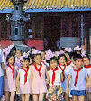 Children_with_red_mao_scarves_2